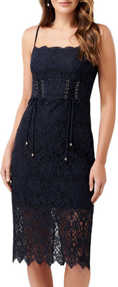 Ever New Emma Corseted Bodycon Lace Dress