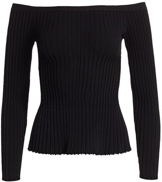 Altuzarra Sweetwater Off-The-Shoulder Knit Top