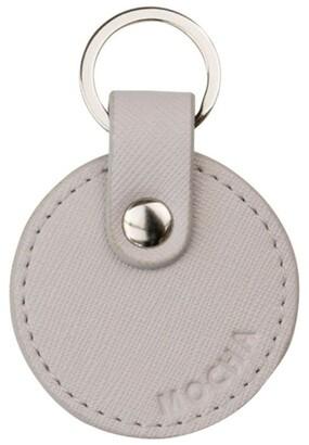 Mocha Jane Leather Key Ring -