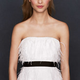 J.Crew Collection feather flutter dress