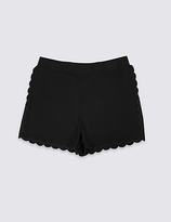 Marks and Spencer Scallop Shorts (3-14 Years)