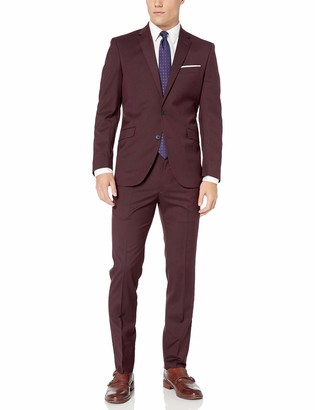 Kenneth Cole Reaction Men's Stretch Slim Fit Suit