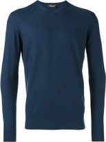 Loro Piana V neck sweatshirt - men - Cashmere - 50