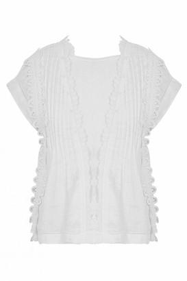 High Finesse Cap Sleeve Shirt - 10