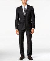 Vince Camuto Men's Slim-Fit Charcoal Flannel Suit