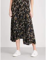 A.L.C. Maya pleated chiffon skirt