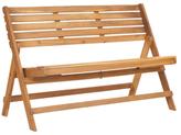 Safavieh Desiderio Acacia Folding Bench