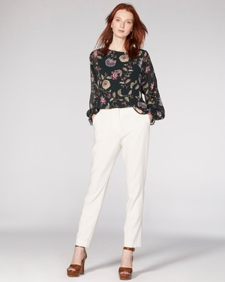 Vince Camuto Twill Cropped Pants