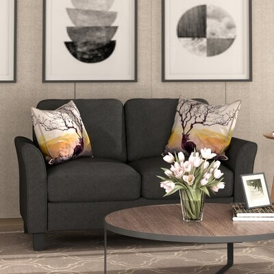 """Thumbnail for your product : Winston Porter Dag 57"""" Flared Arm Loveseat"""