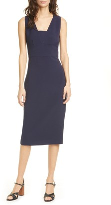 Ted Baker Astrid Seam Detail Pencil Dress