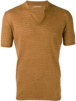 Nuur knitted polo shirt - men - Cotton/Linen/Flax - 50