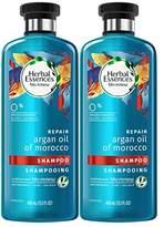 Herbal Essences Biorenew Argan Oil of Morocco Repair Shampoo, 13.5 Fl Oz (Pack of 2)