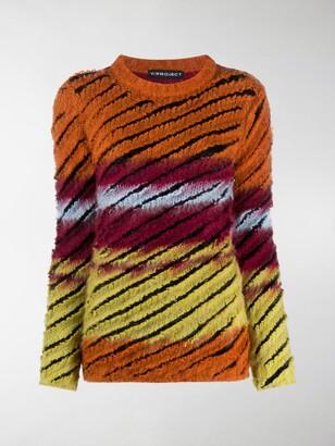 Y/Project Striped Knit Jumper