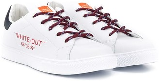 Paolo Pecora Kids TEEN White Out sneakers