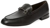 Salvatore Ferragamo Moc Leather Loafer