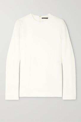 Haider Ackermann Wool-fleece Top - White
