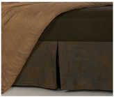 Hiend Accents Faux Leather King Bed Skirt