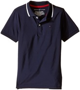 Tommy Hilfiger Ivy Synthetic Stretch Jersey Polo (Toddler/Little Kids)