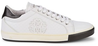 Roberto Cavalli Leather Lace-Up Sneaker