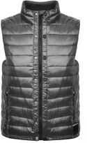 Replay Padded Gilet Grey