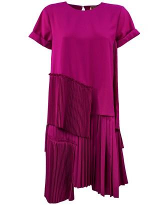 N°21 N.21 Flared Fuchsia Dress