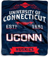 Bed Bath & Beyond University of Connecticut Raschel Throw Blanket
