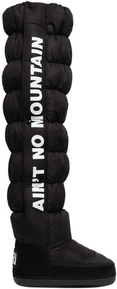 DSQUARED2 20mm Nylon Tall Snow Boots