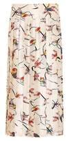 Tory Burch Vance silk skirt