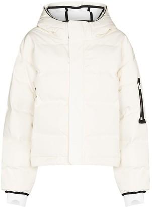 TEMPLA Naswa hooded padded jacket