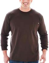 Dickies Heavyweight Long-Sleeve Pocket Tee-Big & Tall