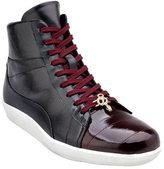 Belvedere Men's Vitale Two-Tone High Top Sneaker