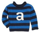 MJK Knits Personalized Baby's, Toddler's & Kid's Letter Sweater