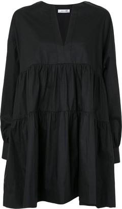Anine Bing Addison tiered cotton dress