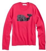 Vineyard Vines Girl's Sequin Whale Sweater