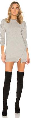 superdown Tarina Zip Sweatshirt Dress