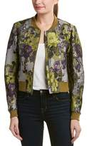 BCBGMAXAZRIA Floral Jacket.
