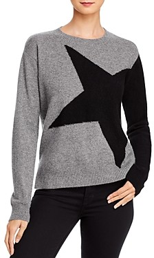 Minnie Rose Star Color-Block Sweater