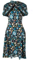 J.W.Anderson floral print dress - women - Silk - 8