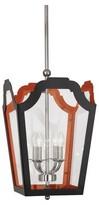 Rob-ert Williamsburg 4 - Light Lantern Square Chandelier Robert Abbey Finish: Charcoal/Dragons Blood