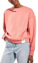 Topshop Women's Romance Sweatshirt