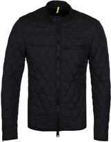 Replay Black Duck Free Quilted Jacket