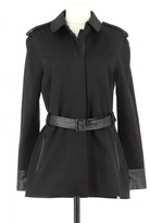 Karl Lagerfeld Paris Black Polyester Trench coats