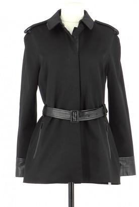 Karl Lagerfeld Paris Black Trench Coat for Women