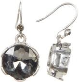 Kenneth Cole New York Black Crystal Drop Earrings