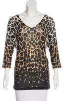 Temperley London Printed V-Neck Top