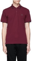 McQ by Alexander McQueen Rubber logo patch polo shirt