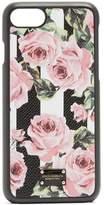 Dolce & Gabbana Rose and stripe-print iPhone® 7 case