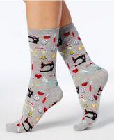 Hot Sox Women's Sewing Supplies Socks