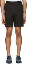 Kenzo Black Embroidered Shorts