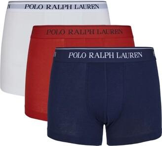 Polo Ralph Lauren Logo Boxer Briefs (Pack Of 3)